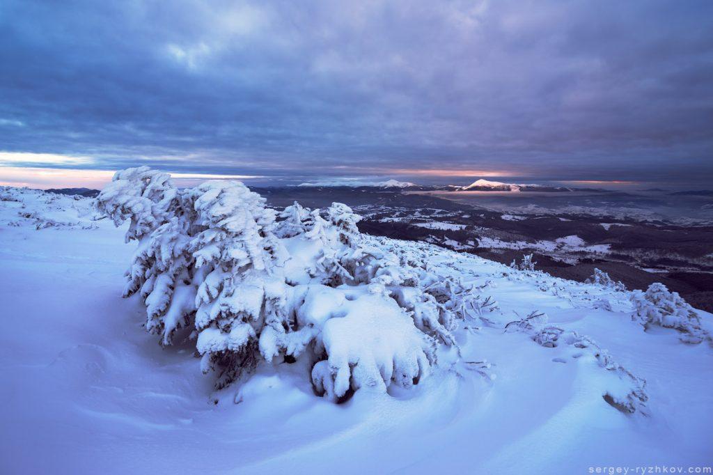 Symiak Mountain, Carpathians, Ukraine