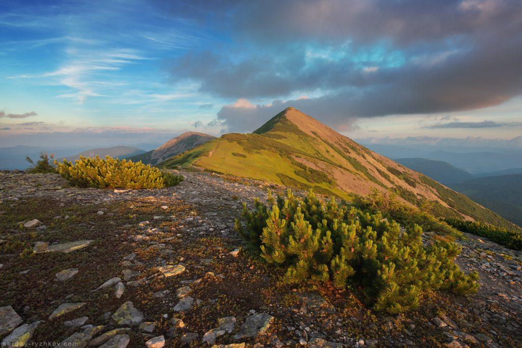 Сивуля - найвища гора Горган
