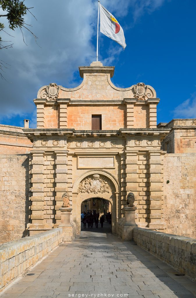 Main Gate of Mdina old city