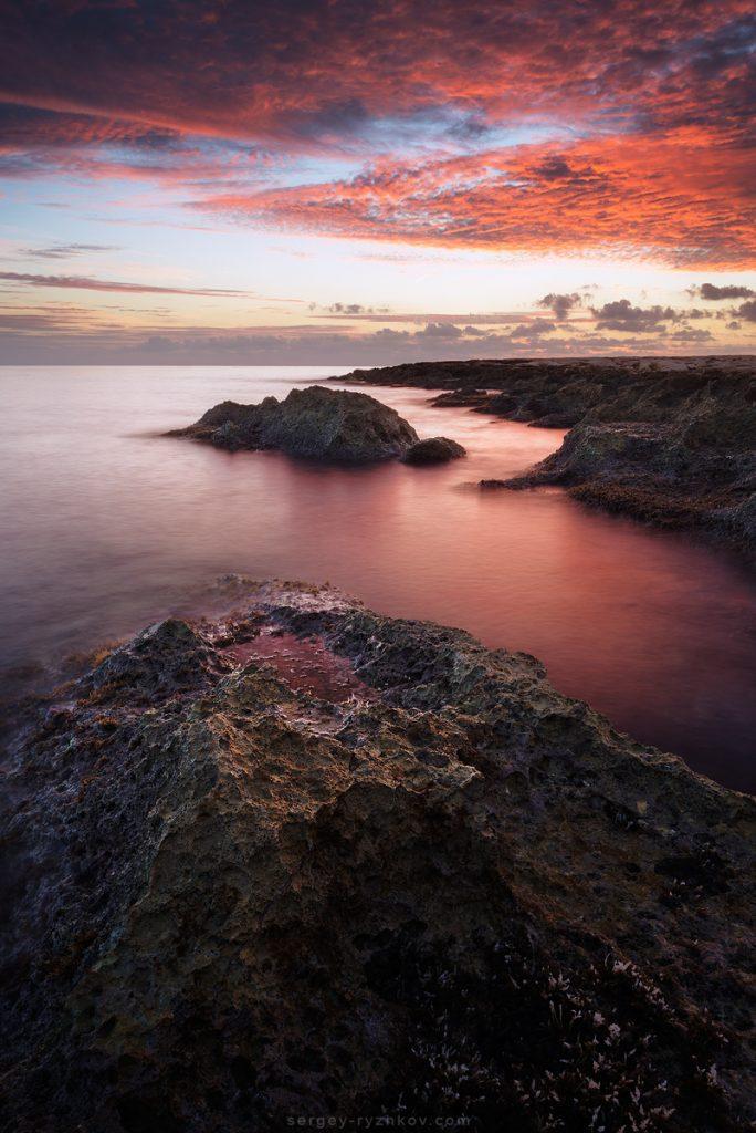 Sunrise on Maltese Islands