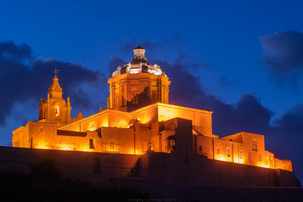 St. Paul's Church in Mdina, Malta