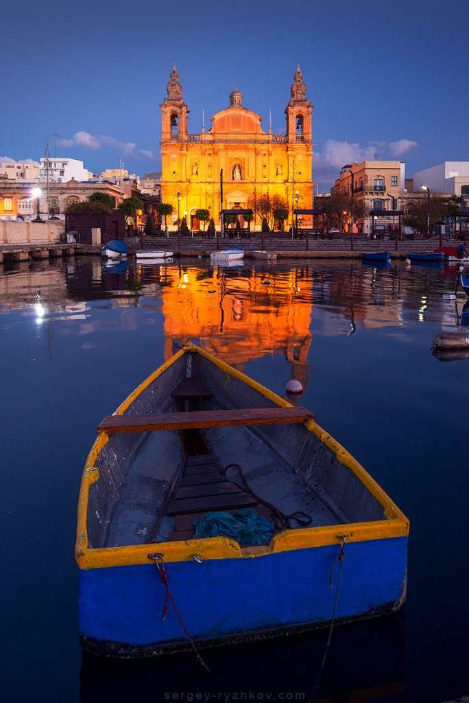 Parish church of Saint Joseph (1889) in Msida, Malta