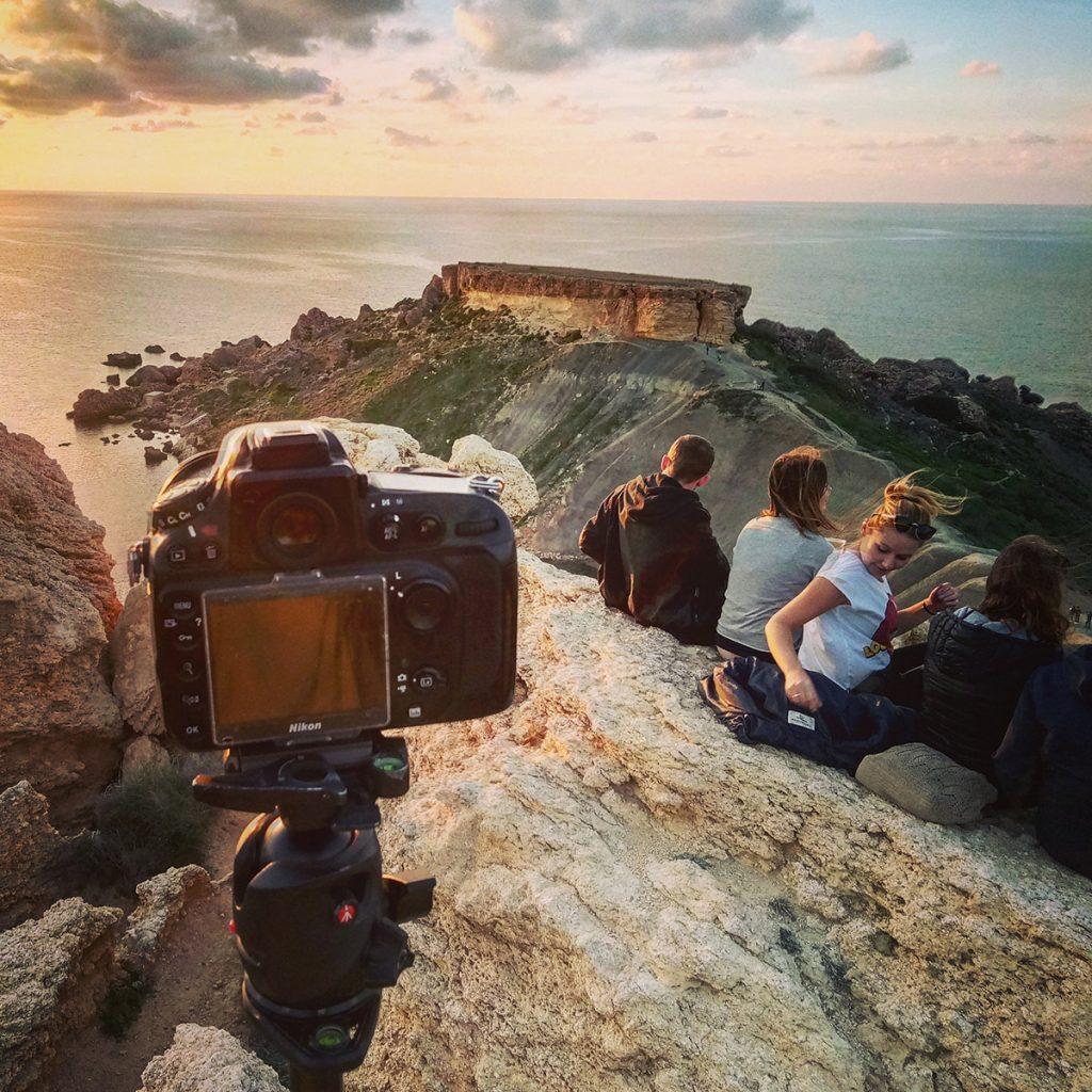 Туристи на Мальті