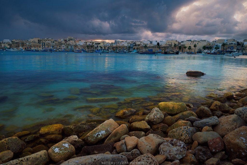Evening in Marsaxlokk