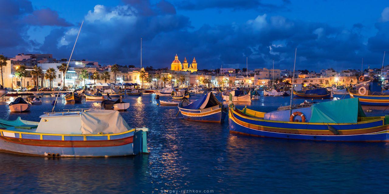 Мальта. Яскраві барви Марсашлокку