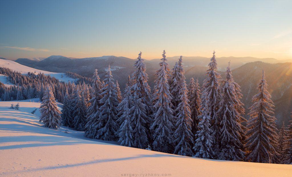 Зимова казка у Карпатах