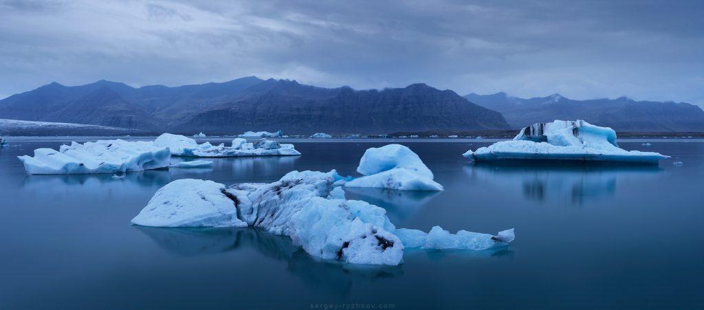 Iceberg Jokulsarlon Glacier Lagoon, Iceland