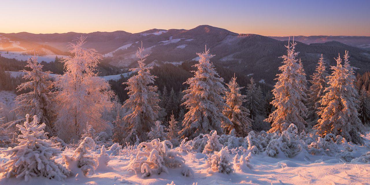 Зима на Буковині