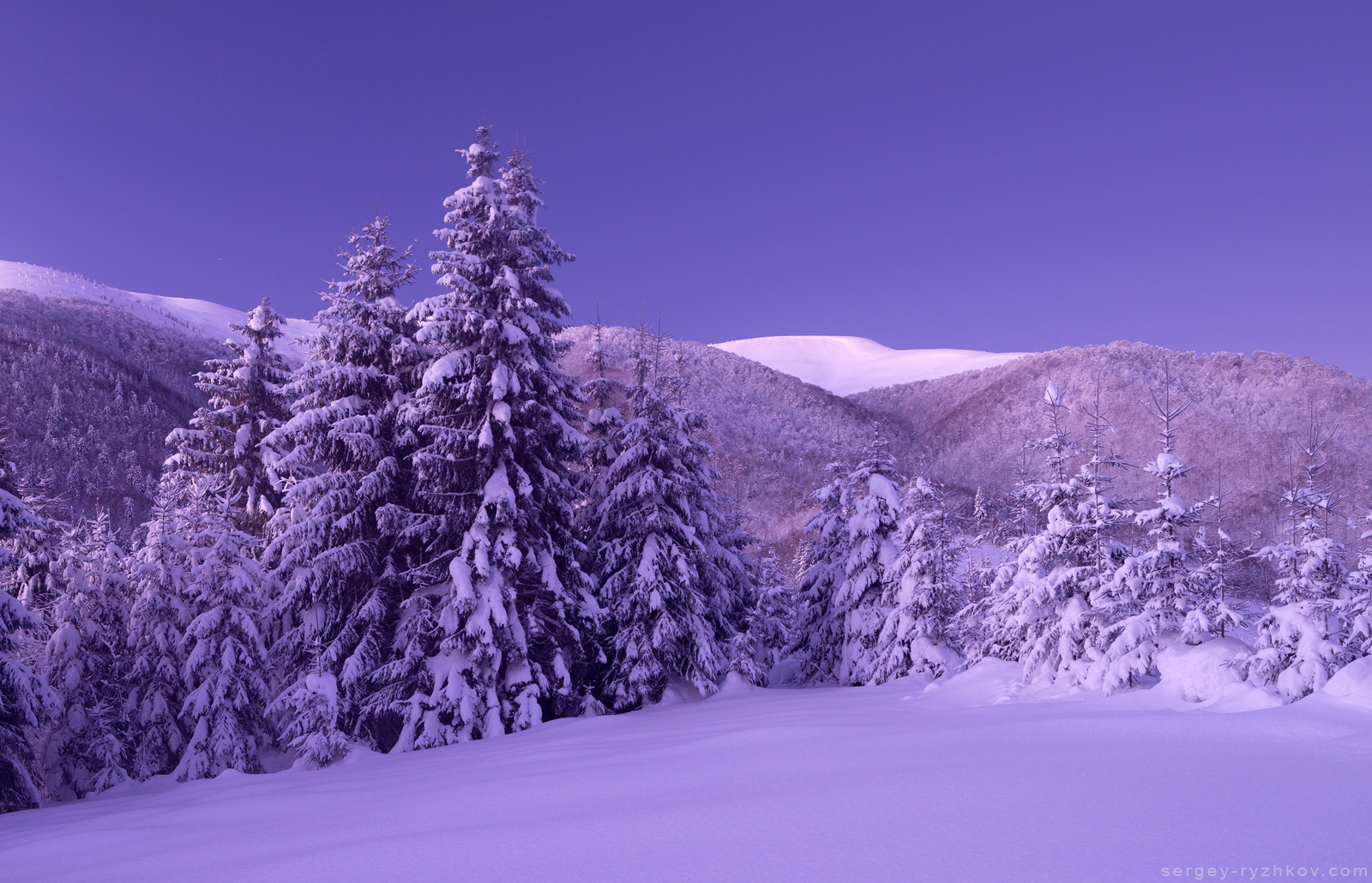 Перевал Присліп, Закарпаття