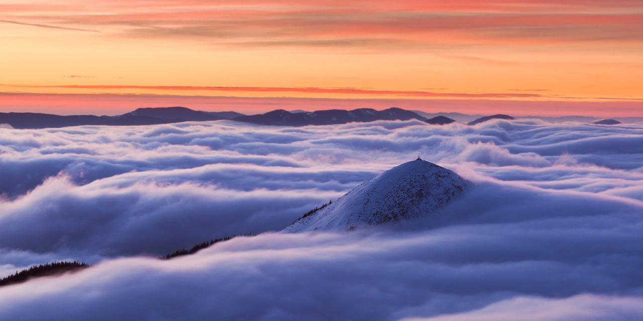 Зима на горі Синяк