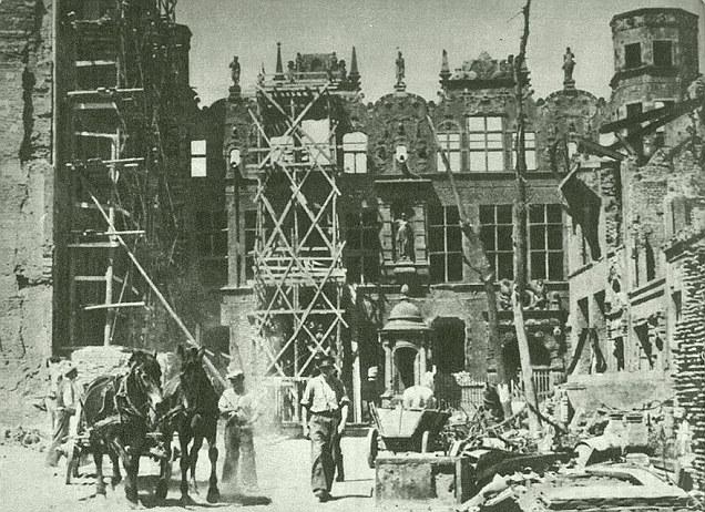 Danzig Great Armory post-war