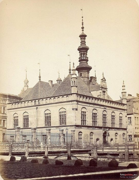 Town Hall of Gdansk, 1865