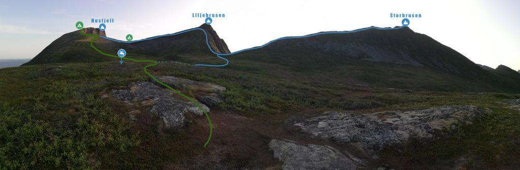 Трекіінг на Сеньї, Норвегія