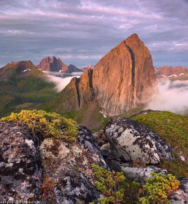 Гора Сегла та Breitinden
