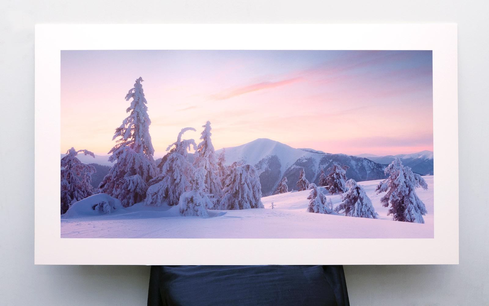 Художня фотографія зимових Карпати. Купити