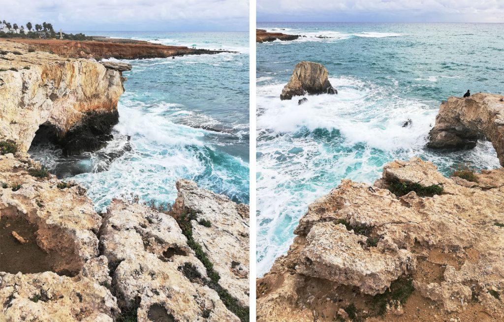 Скелясті береги на Кіпрі