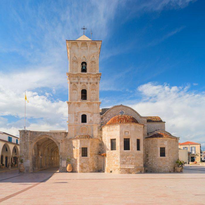 Старовинна церква є головною пам'яткою Ларнаки