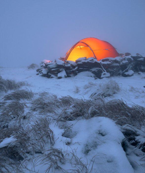 Wild camp in Muntii Rodnei