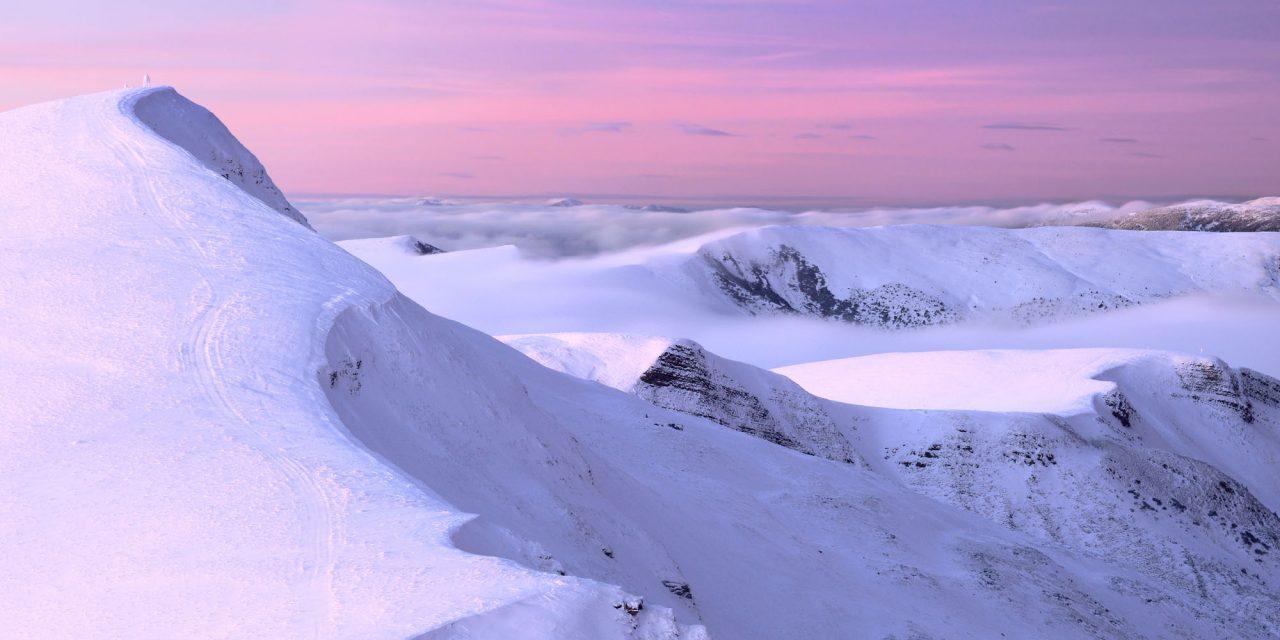 Зима на Свидовці